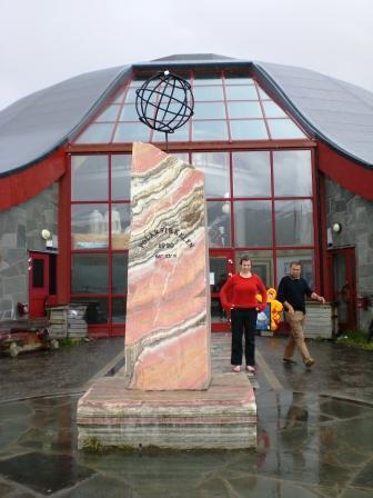 Polarkreiscenter mit Souvenirladen