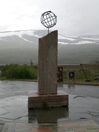 Polarkreisstatue