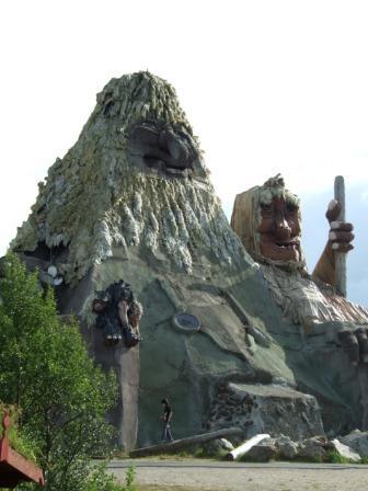 In diesen konnte man reingehen - größter Troll der Welt?