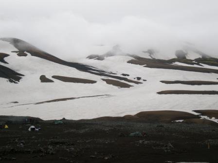 Guten Morgen, kaltes Island!