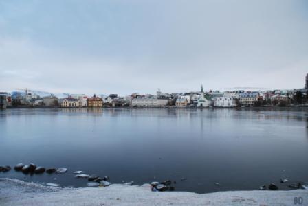 Tjörninn - Reykjaviks Stadtsee