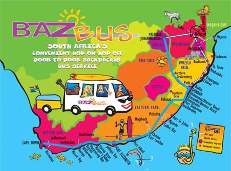 BazBus Route zurück