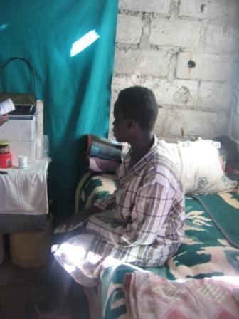 an Aids erkrankte junge Frau